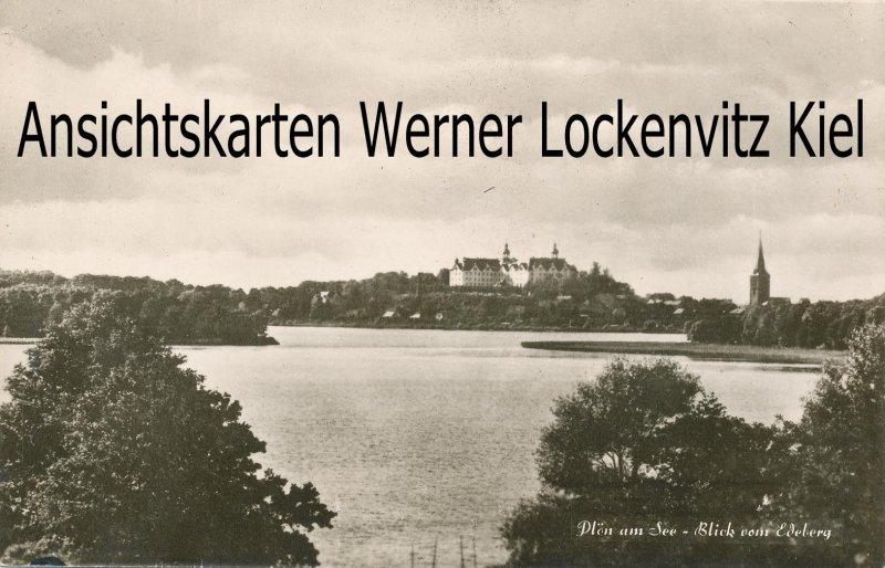 Ansichtskarte Plön am See Blick vom Edeberg