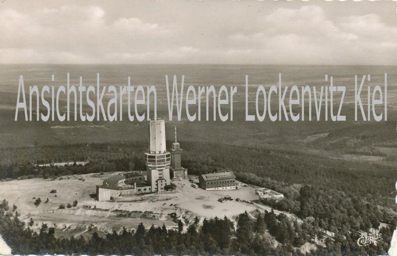 Ansichtskarte Feldberg Fernmelde- Fernseh- und UKW-Sender Luftbild