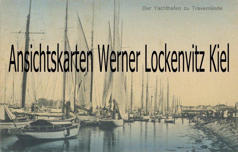 Ansichtskarte Travemünde Yachthafen