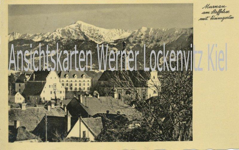 Ansichtskarte Murnau am Staffelsee Ortsansicht