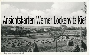Ansichtskarte Buchen-Hainstadt Ortsansicht Odenwald