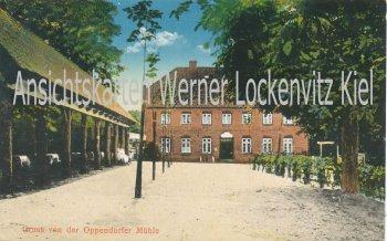 Ansichtskarte Schönkirchen-Oppendorf Gruss von der Oppendorfer Mühle