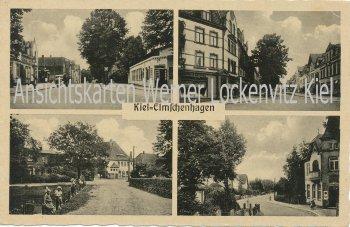 Ansichtskarte Kiel-Elmschenhagen Straßenansichten