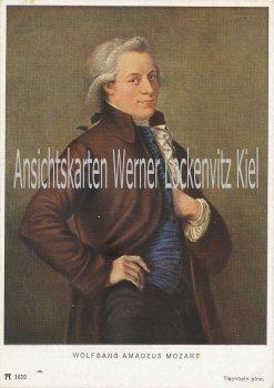 Ansichtskarte Ackermanns Kunstverlag Wolfang Amadeus Mozart pinx. Tischbein