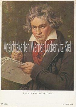 Ansichtskarte Ludwig van Beethoven
