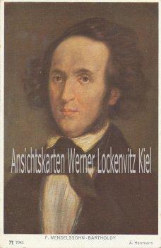 Ansichtskarte F. Mendelssohn-Bartholdy