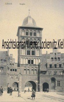 Ansichtskarte Burgtor in Lübeck