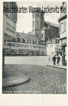 Ansichtskarte Homburg Saar Befreiungsplatz