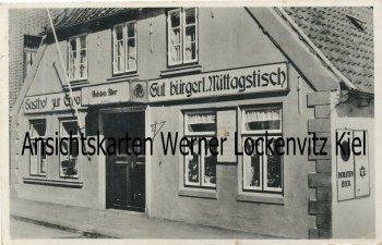 Ansichtskarte Büsum Gasthof zur Erholung