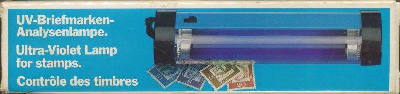 Ultraviolett-Handlampe L80 zur Fluoreszenz-Bestimmung Leuchtturm