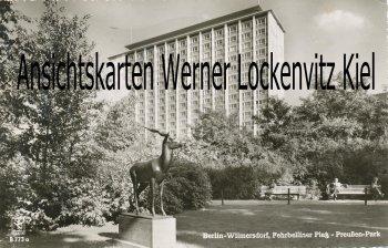 Ansichtskarte Berlin-Wilmersdorf Fehrbelliner Platz Preußen-Park