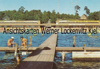 Ansichtskarte Berlin-Wannsee Strandbad Wannsee Lido