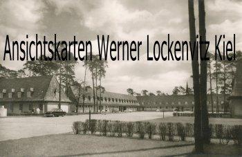 Ansichtskarte Berlin-Spandau Waldkrankenhaus Blick auf die Rö.-Abteil. und Verwaltung