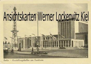 Ansichtskarte Berlin Ausstellungshallen am Funkturm