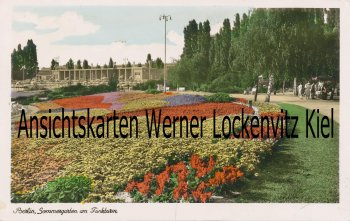 Ansichtskarte Berlin Sommergarten am Funkturm