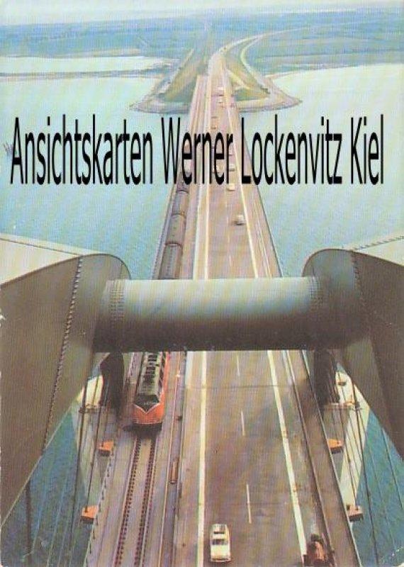 Ansichtskarte Fehmarn Blick von der Fehmarnsundbrücke