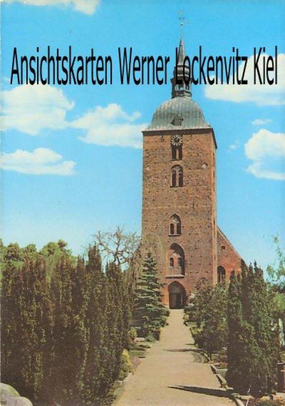 Ansichtskarte Burg auf Fehmarn St. Nicolai-Kirche Außenansicht