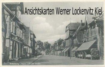 Ansichtskarte Rotenburg i. Hann. Große Straße