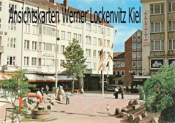 Ansichtskarte Alter Markt in Kiel