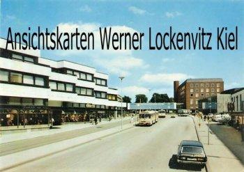Ansichtskarte Kiel Eggerstedtstraße mit Schloß