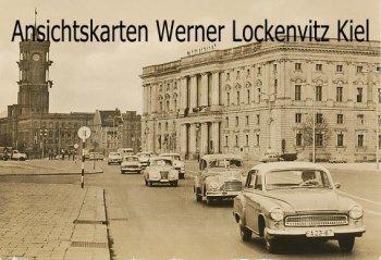 Ansichtskarte Berlin Rathaus und Marstall Autos