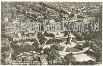 Ansichtskarte Berlin Blick über die Stadt Königsplatz RLB