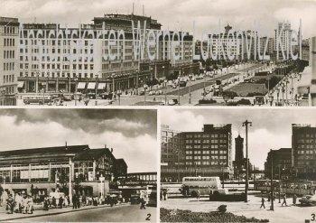 Ansichtskarte Berlin Karl-Marx-Allee Alexanderplatz