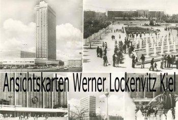 Ansichtskarte Berlin Hotel Stadt Berlin Haus des Lehrers