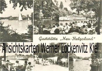 Ansichtskarte Gaststätte Neu-Helgoland in Berlin-Müggelheim