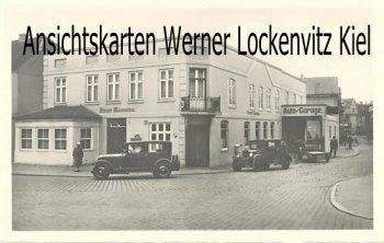 Ansichtskarte Marne in Holstein Hotel Stadt Hamburg Inh. Max Lehmann
