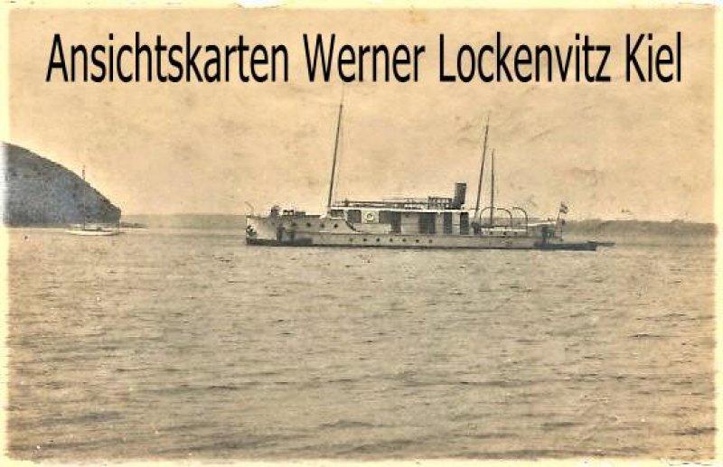 Ansichtskarte Glücksburg Dampfer Muck von Helluland Fotokarte