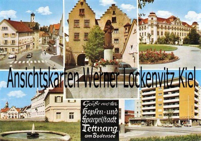 Ansichtskarte Tettnang Ortsansichten Hotel