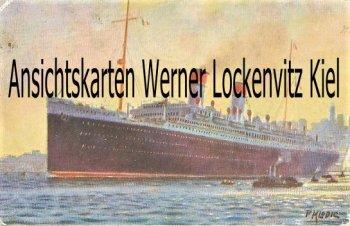 Ansichtskarte SS Roma Italian Line Gemälde sign. P. Klodic