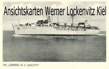 Ansichtskarte USA MS General W. C. Langfitt