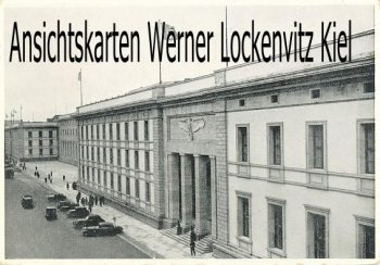 Ansichtskarte Berlin Reichskanzlei mit Sonderstempel