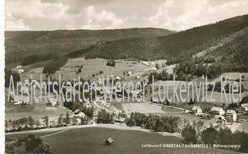 Ansichtskarte Baiersbronn-Obertal-Tannenfels Ortsansicht