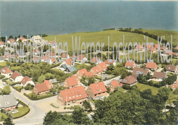 Ansichtskarte Ortsansicht von Hohwacht Luftbild