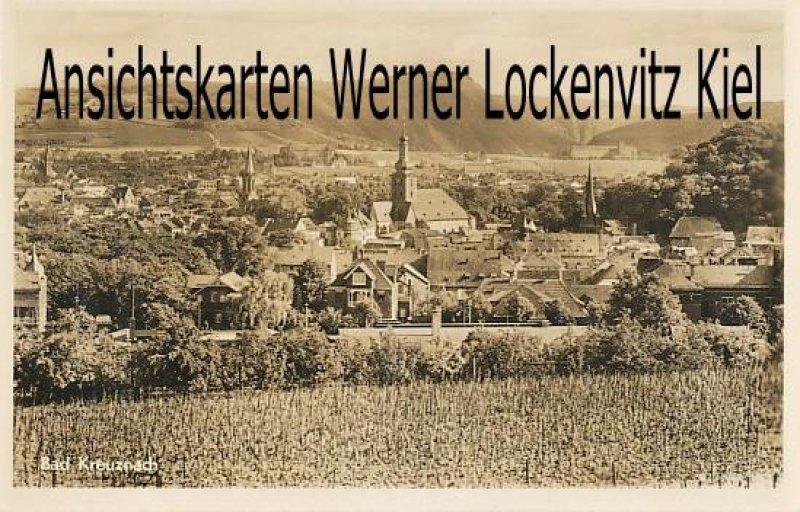 Ansichtskarte Bad Kreuznach Ortsansicht mit Kirche
