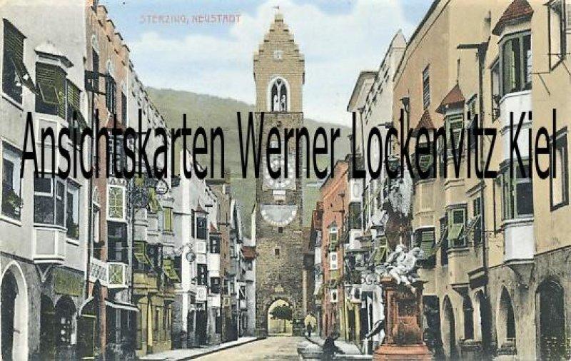 Ansichtskarte Vipiteno Sterzing Neustadt