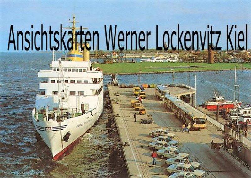 Ansichtskarte Cuxhaven Neue Seebäderbrücke mit Wappen von Hamburg