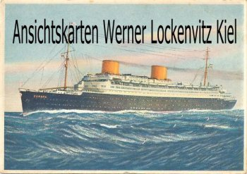 Ansichtskarte Vierschrauben-Turbinen-Schnelldampfer Europa NDL Bremen