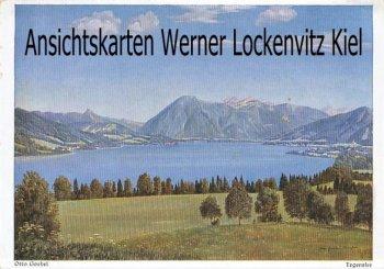 Ansichtskarte Tegernsee Gemälde von Otto Goebel