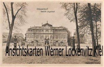 Ansichtskarte Schloß Jägerhof in Düsseldorf