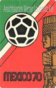 Ansichtskarte Postal Con Vista Mexiko Mexiko Fußball-Weltmeisterschaft 1970
