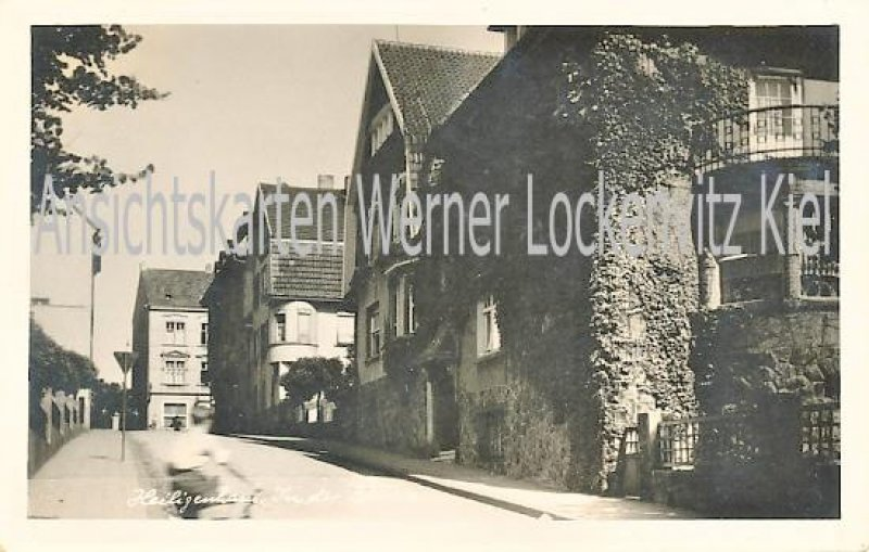Ansichtskarte Heiligenhaus Straßenansicht