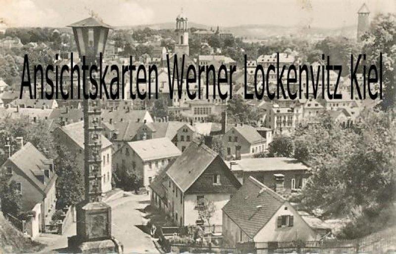 Ansichtskarte Auerbach Vogtland Ortsansicht