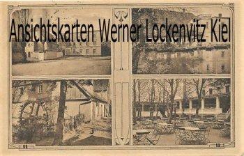 Ansichtskarte Naunhof Mühle Lindhardt Bes. Ernst Schurk