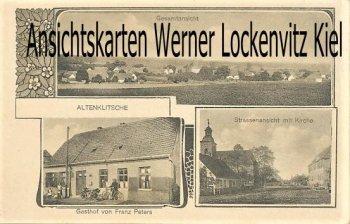 Ansichtskarte Jerichow-Altenklitsche Gesamtansicht Gasthof von Franz Peters
