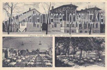 Ansichtskarte Jerichow Poeges Hotel Inh. W. Lucke