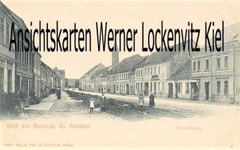 Ansichtskarte Niemegk Gross-Strasse